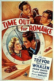 <i>Time Out for Romance</i> 1937 film by Malcolm St. Clair