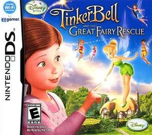 Tinker Bell and the Great Fairy Rescue - Image: Tinker Bell TGFR DS