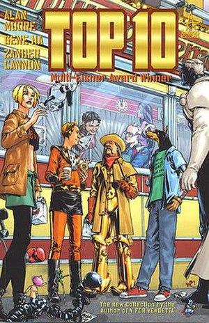Top 10 (comics) - Image: Top Tencover 1