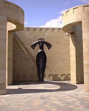 Todor Todorov (sculptor) - Totem (2009) by Todor Todorov, Hamilton Scotland