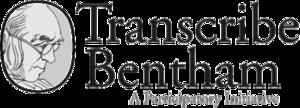 Transcribe Bentham - Image: Transcribe Bentham logo