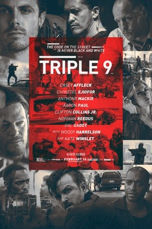 Triple 9 - Theatrical release poster