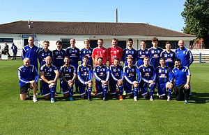 Troon F.C. - Troon F.C. Squad v Kilbirnie Ladeside (5th September 2015)