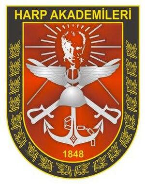 Turkish War Academies - Image: Turkish War Academies logo
