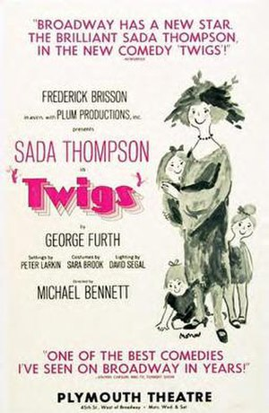 Twigs (play) - Original Broadway poster