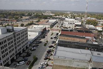 Longview metropolitan area, Texas - Downtown Longview, Texas