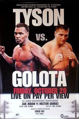 Mike Tyson vs. Andrew Golota - Image: Tyson vs Golota