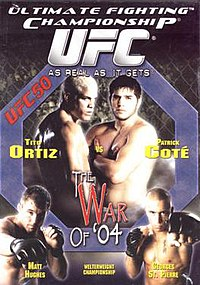 A poster or logo for UFC 50: The War of '04.