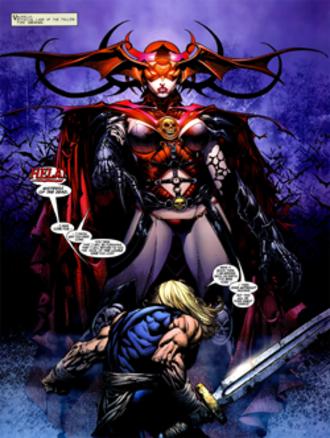 Hela (comics) - Ultimate Hela, by David Finch