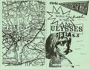 """The Nation of Ulysses - """"Ulysses Speaks"""" zine, issue No. 4"""