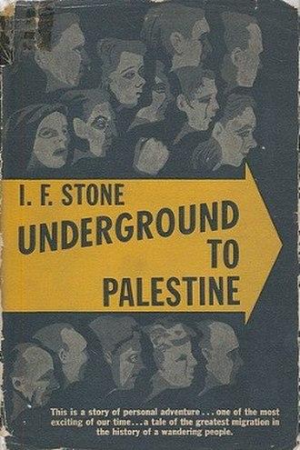 Underground to Palestine - Image: Underground To Palestine