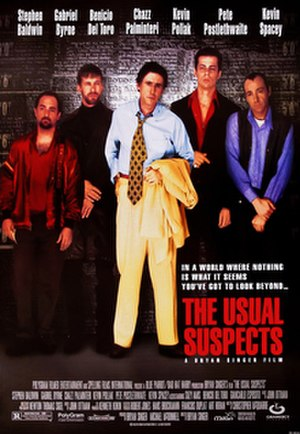 The Usual Suspects - Theatrical release poster