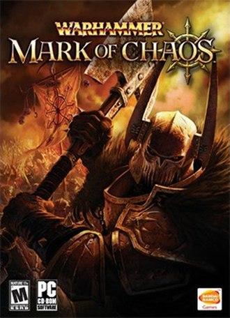 Warhammer: Mark of Chaos - Image: Warhammer Mark of Chaos Coverart