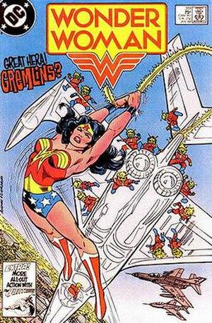 Portrayal of women in American comics - Image: Wonder Woman 311