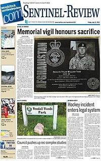<i>Woodstock Sentinel-Review</i>