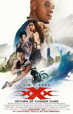 XXx: Return of Xander Cage - North American theatrical release poster