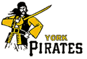 York White Roses - York Pirates logo