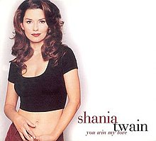 Shania Twain — You Win My Love (studio acapella)