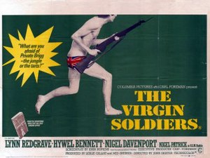 The Virgin Soldiers (film) - British quad poster by John Stockle