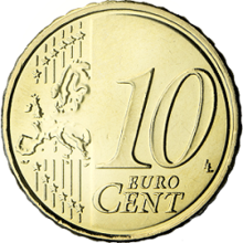 10 Eurocent Common 2007 Png