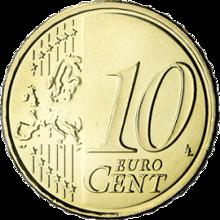 10 Euro Cent Coin Wikipedia