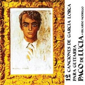 12 canciones de García Lorca para guitarra - Image: 12 canciones de Garcia lorca