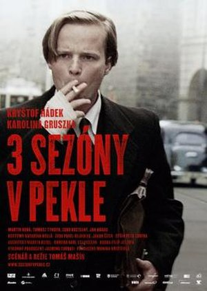 3 Seasons in Hell - Czech Film Poster