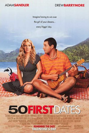 50 First Dates - Theatrical release poster