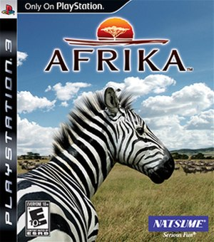Afrika (video game) - North American boxart