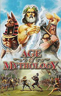 <i>Age of Mythology</i> Spinoff video game of Age of Empires