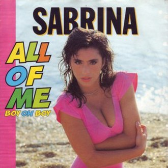 All of Me (Boy Oh Boy) - Image: All of Me (Boy Oh Boy) (Sabrina Salerno)