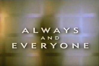 Always and Everyone - Image: Alwaysandeveryone