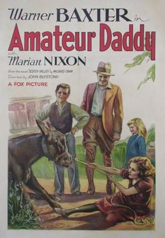 Amateur Daddy - Theatrical release poster
