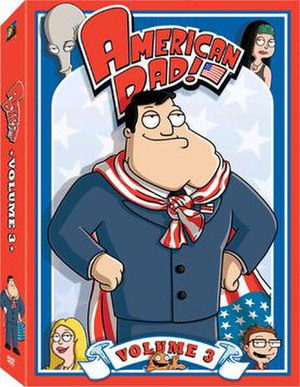 American Dad! (season 3) - Image: American Dad volume 3