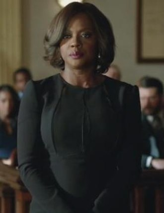 Annalise Keating - Viola Davis as Annalise in the latter half of the first season.