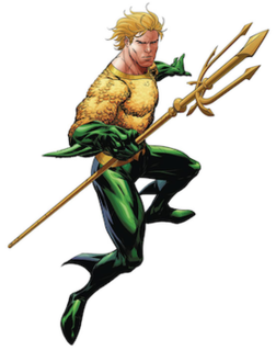 Aquaman Fictional superhero appearing in the DC Comics