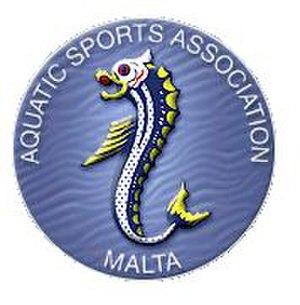 Aquatic Sports Association of Malta - Image: Aquatic Sports Association of Malta (logo)
