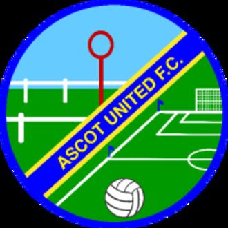 Ascot United F.C. - Image: Ascot United FC
