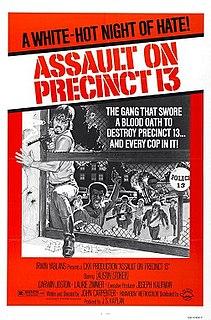 <i>Assault on Precinct 13</i> (1976 film) 1976 film by John Carpenter