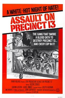 "Original theatrical promotional poster, 2nd version. The tagline reads, ""A cop with a war on his hands. His enemy... an army of street killers. His only ally... a convicted murder."""