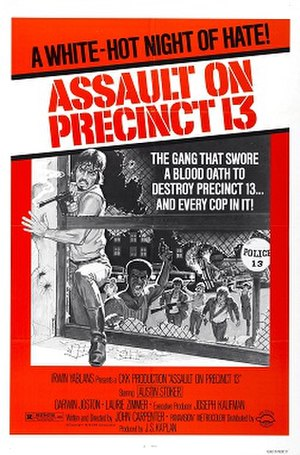 Assault on Precinct 13 (1976 film) - Image: Assault on precinct thirteen movie poster