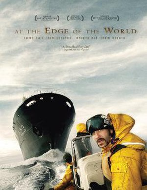 At the Edge of the World (2008 film) - Theatrical release poster