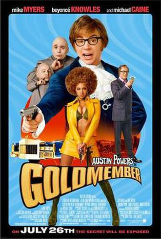 Austin Powers in Goldmember - Theatrical release poster