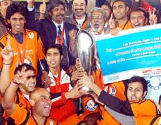 Bangalore Hi-Fliers - The Bangalore Lions Team After Winning Premier Hockey League in year 2006