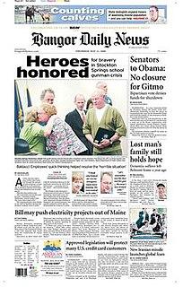 <i>Bangor Daily News</i> Newspaper