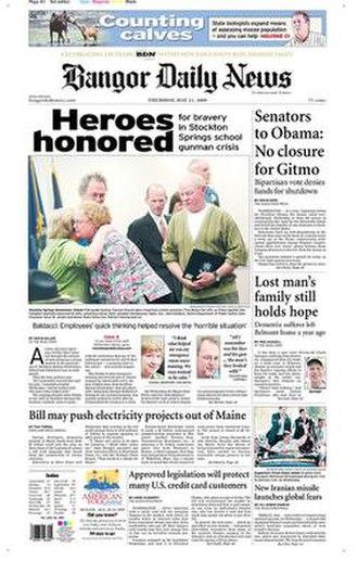 Bangor Daily News - Image: Bangor Daily News 2009 05 21