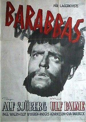 Barabbas (1953 film) - Film poster