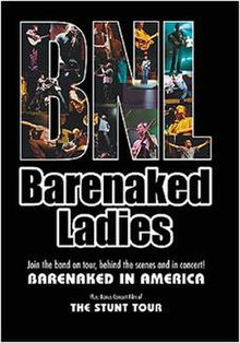 Bare naked ladies stunt