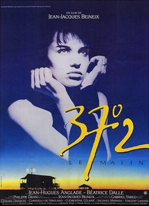 Betty Blue - Simulation of the Italian-language film poster