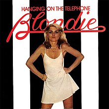 "US edition of the ""Hanging On Telephone"" single with alternative cover art."